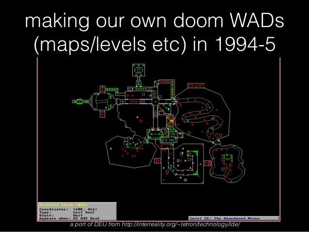 ing into Doom (1993) WAD Files Doom Maps on