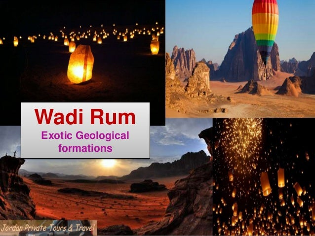 Wadi Rum Exotic Geological formations