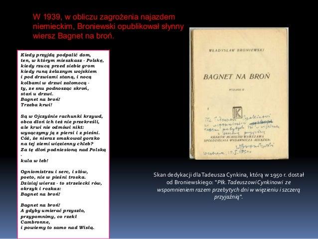 Władysław Broniewski Prezentacja