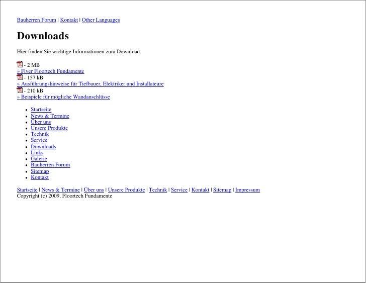 Bauherren Forum | Kontakt | Other Languages   Downloads Hier finden Sie wichtige Informationen zum Download.     - 2 MB » ...
