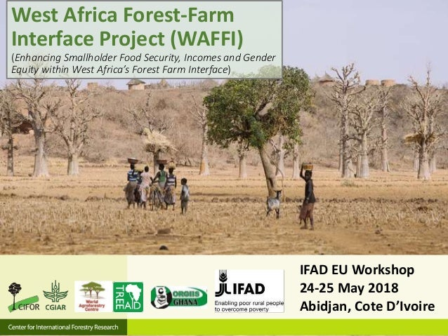 IFAD EU Workshop 24-25 May 2018 Abidjan, Cote D'Ivoire West Africa Forest-Farm Interface Project (WAFFI) (Enhancing Smallh...