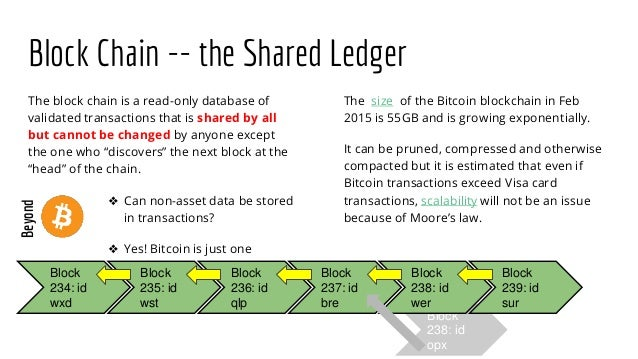 Bitcoin Blockchain And The Crypto Contracts