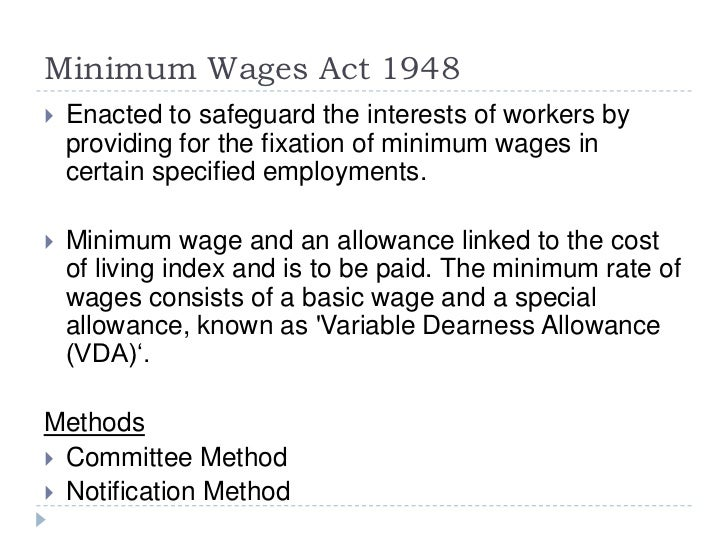 wages and salary fixation The main objective of wage and salary administration is to establish and maintain  an  the main principles that govern wage and salary fixation are three: 1.