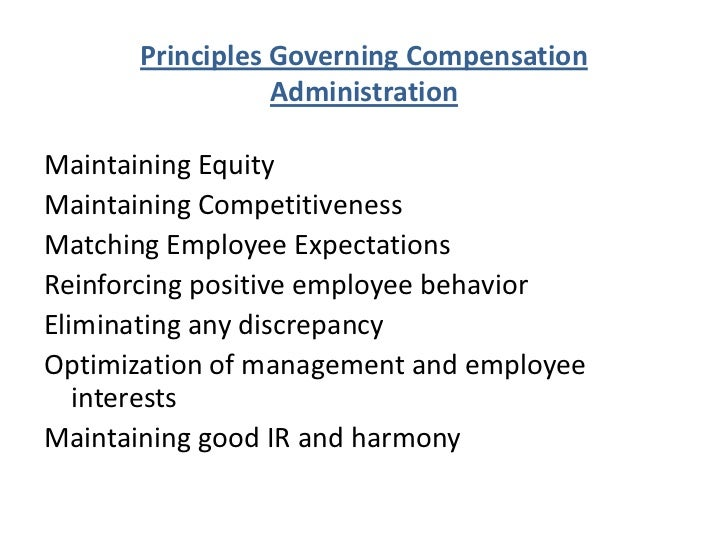 "compensation administration Compensation and benefits (abbreviated ""c&b"") is a sub-discipline of human resources,  sometimes this type of plan is administered so the sales person never resets or falls down to a lower level it also includes performance linked."