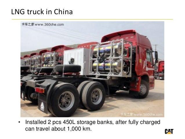 Производство грузовиков на СПГ в Китае за год увеличилось в 5 раз