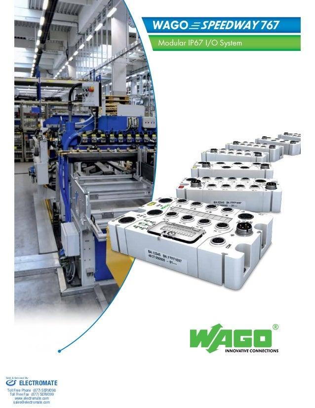 Wago speedway catalog