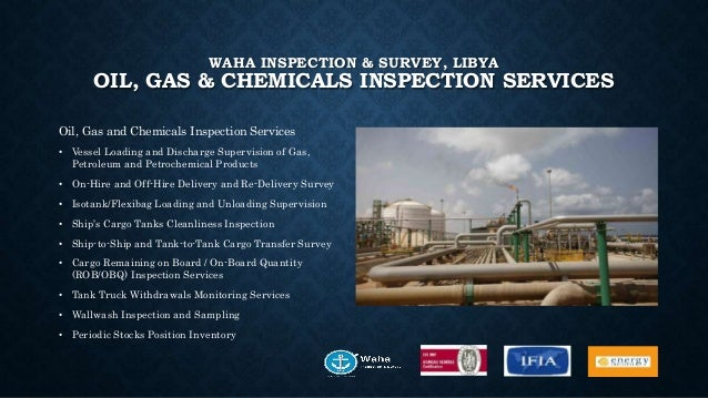Waha inspection & survey, libya slideshare