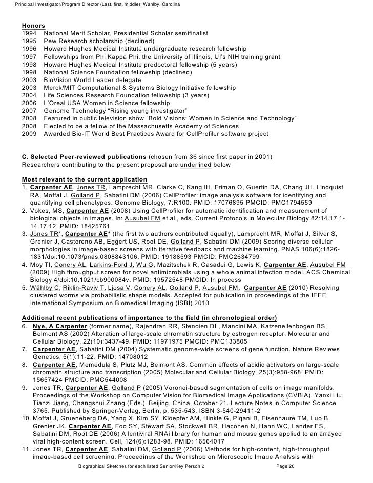 Full Nih Grant Proposal With Comments