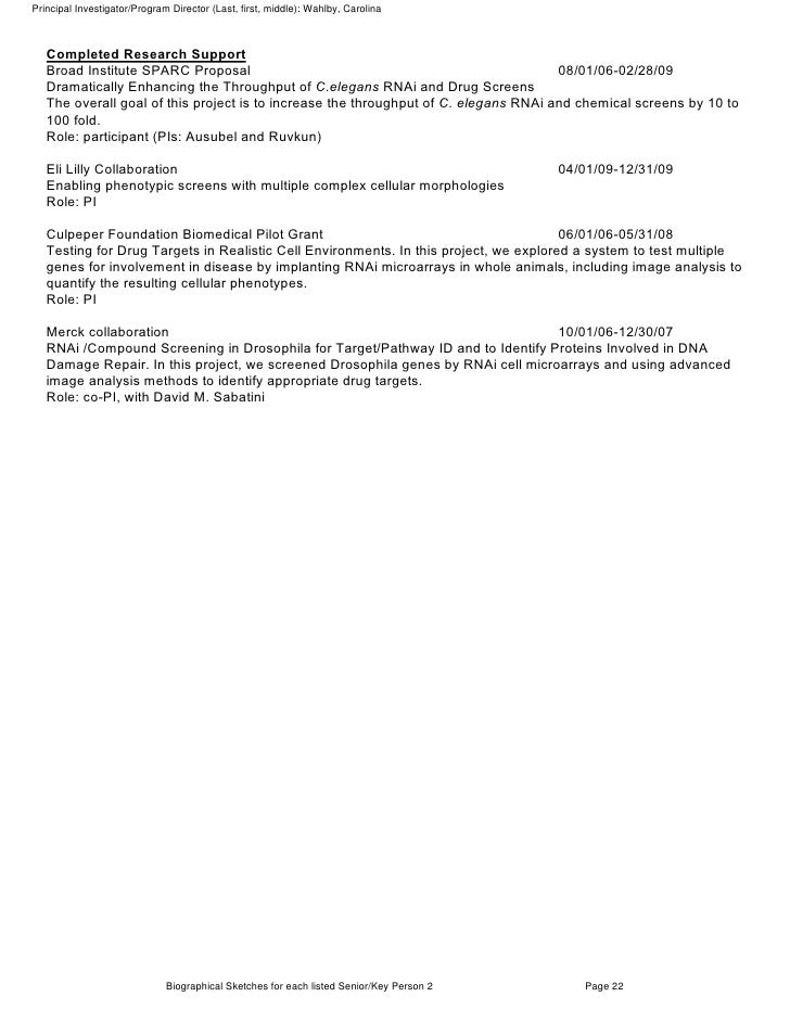 Nih Letter Of Support Example Dolapgnetband