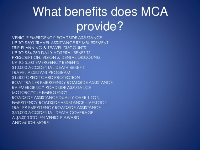 What Is Motor Club Of America Mca Mca Scam Motor