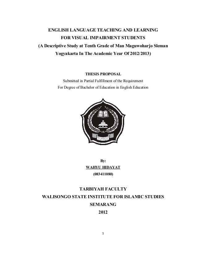 Proposal Tesis Kualitatif Akuntansi Proposal Tesis Akuntansi