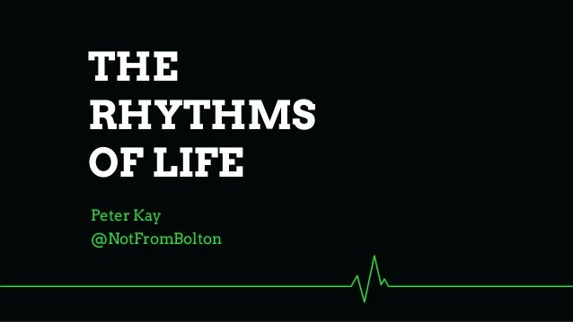 @NotFromBolton Peter Kay THE RHYTHMS OF LIFE