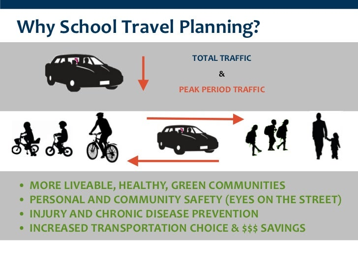 Why School Travel Planning?                              TOTAL TRAFFIC                                   &                ...