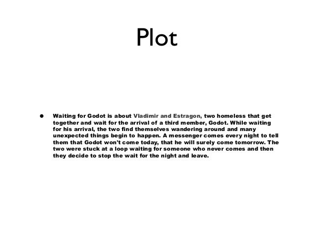 waiting for godot 8 plot• waiting for godot