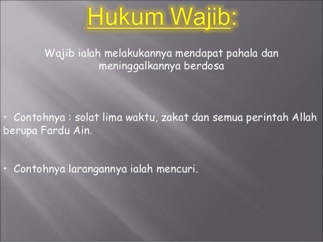 10 Contoh Hukum Wajib - Mosaicone