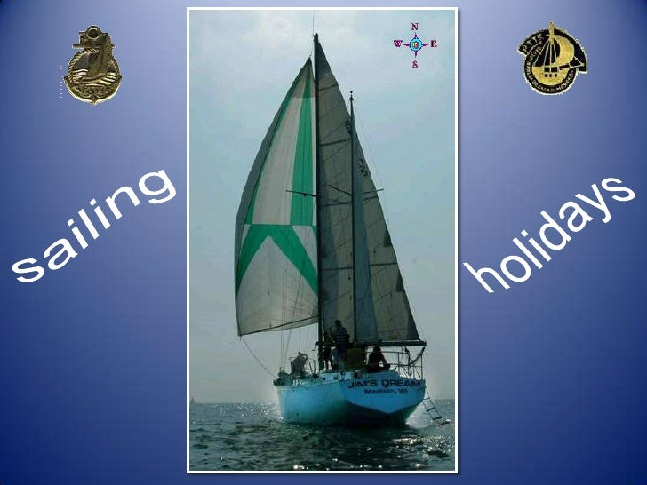 sailing<br />holidays<br />