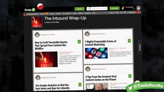 Wake Up from Content Slump with Content Curation