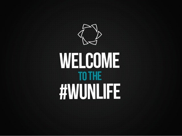 welcome  to the  #wunlife