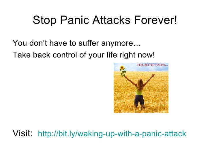 how to stop a panic attack right now