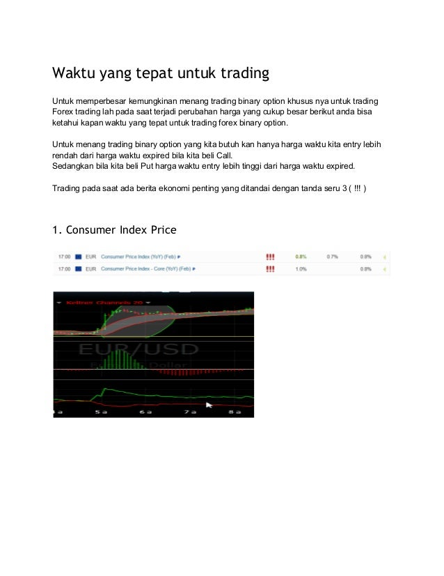 Binary option terbaik