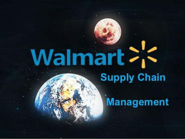 Supply ChainManagement