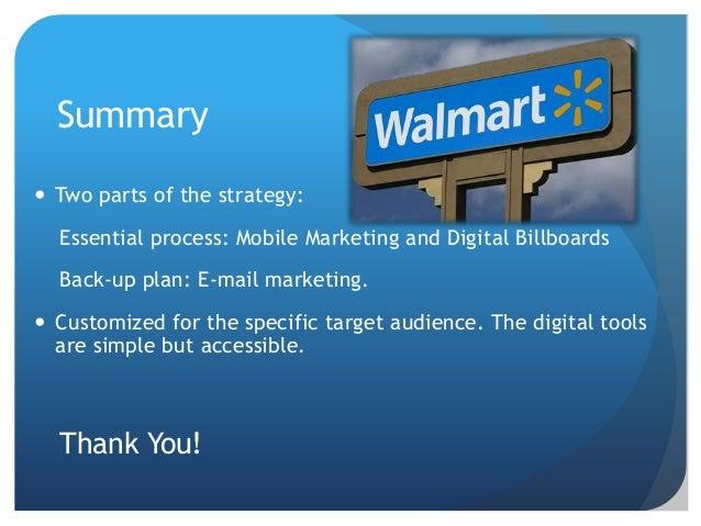 Final Presentation: Digital Strategy for Wal-mart