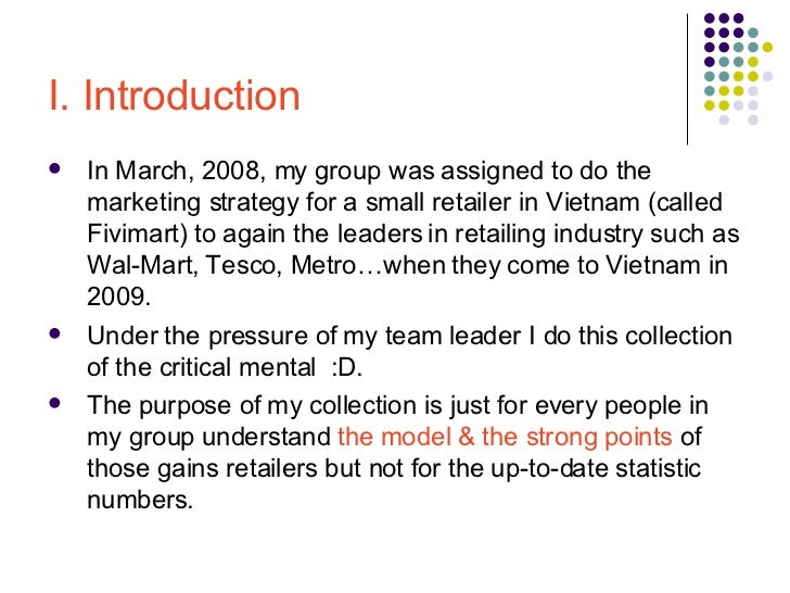 an introduction to the analysis of wal mart economics 1 provide a brief introduction walmart: corporate office location, years in business, revenue, areas and number of worldwide locations  economic analysis of law economic development economic history and theory economic policy economics of regulation economic systems econometrics finance.