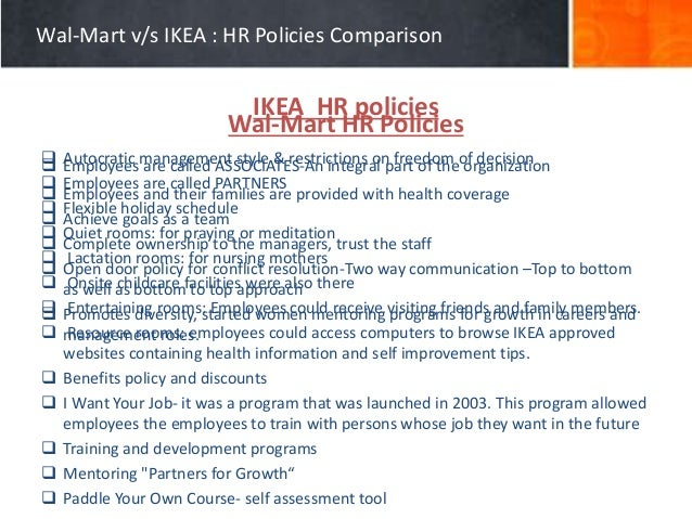 Hr policies at walmart wal mart fandeluxe Gallery