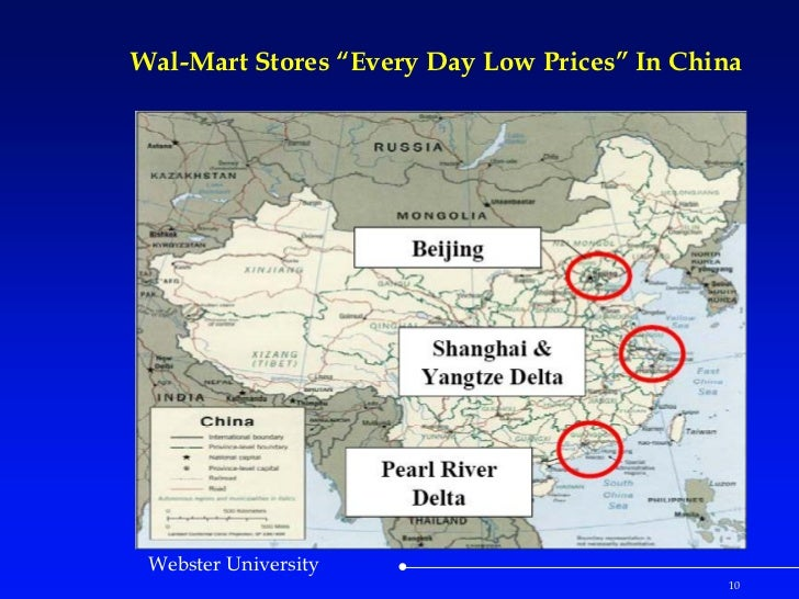 "Case Study: WalMart Stores ""Every Day Low Prices"" In China"