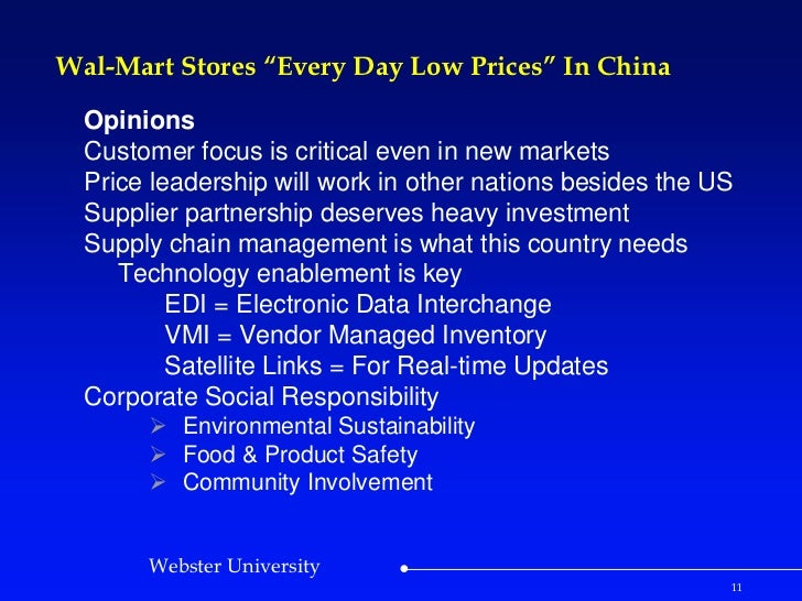 walmart failure in china case study Free shipping buy market entry in china : case studies on strategy, marketing, and branding at walmartcom.