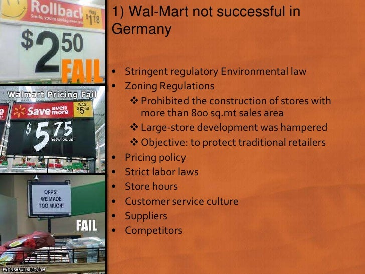 pest analysis of wal mart in germany
