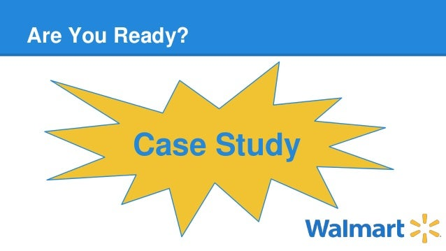 case study wal-marts race for rfid Case study patni develops pilot for wal-mart rfid compliance patni works with a large consumer goods manufacturer to help it meet wal-mart's rfid mandate.