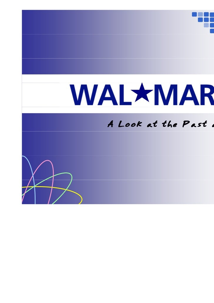 wal mart case write up 3 statistical analysis of gender patterns in wal-mart workforce prepared by richard drogin, ph d february 2003 a introduction 1 i hold a phd in statistics from the university of.