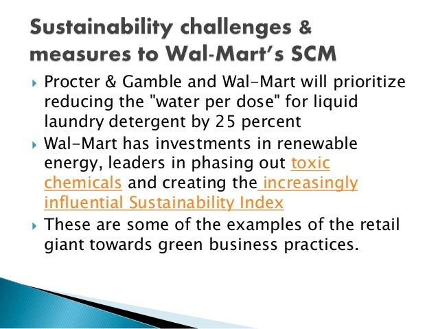 wal mart practices Analysis and recommendationsintroduction – wal-mart, founded by sam walton in 1962, is one of the world largest companies bymarket capitalization and number of.