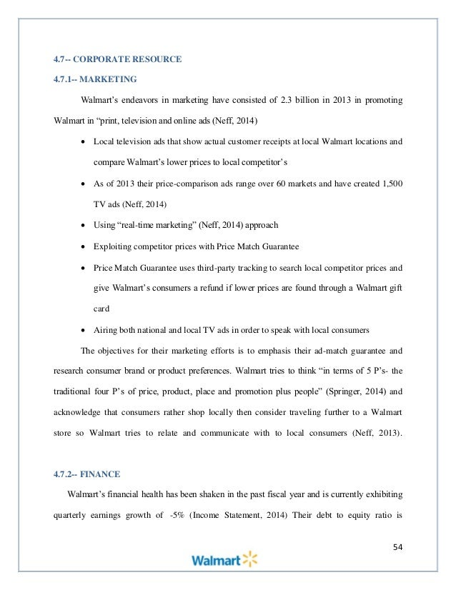Wal mart strategic audit final edit 55 fandeluxe Choice Image