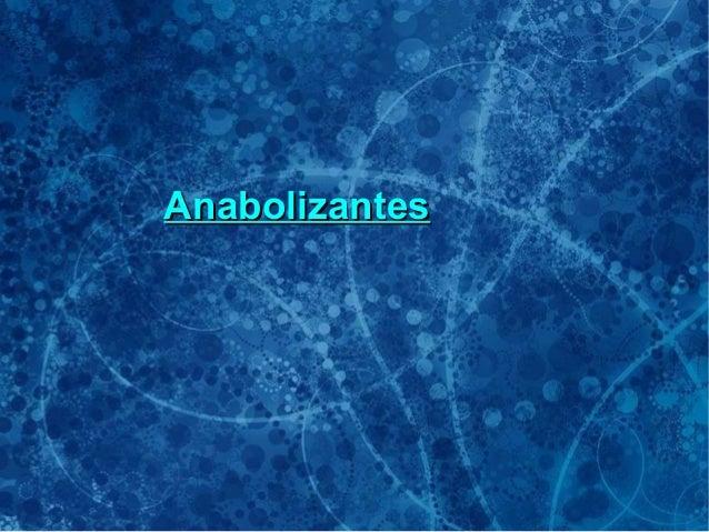 AnabolizantesAnabolizantes