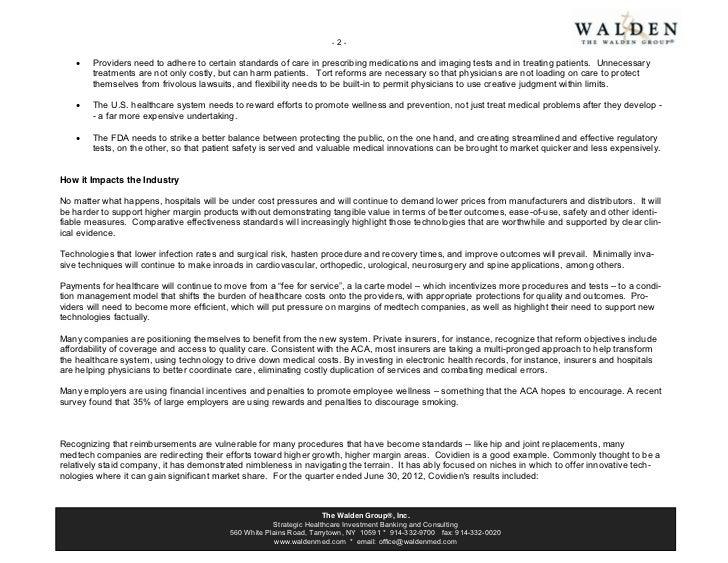 Walden report