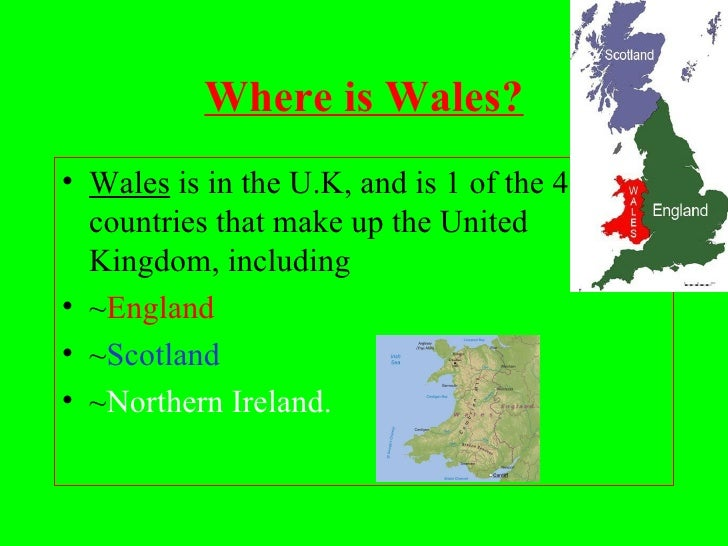 Wales Claire - Where is wales