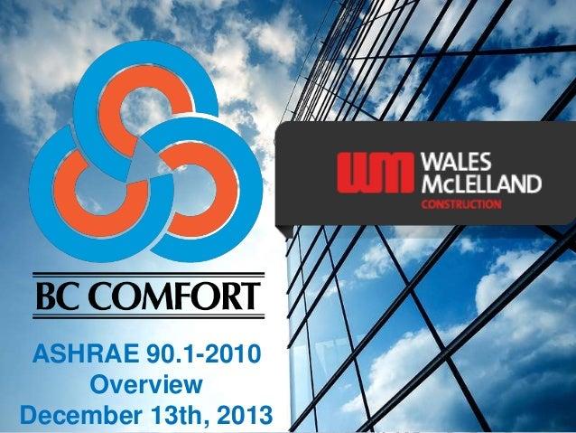 Bc comfort ashrae 90 1 2010 overview december 2013 for Ashrae 62 1 table 6 1