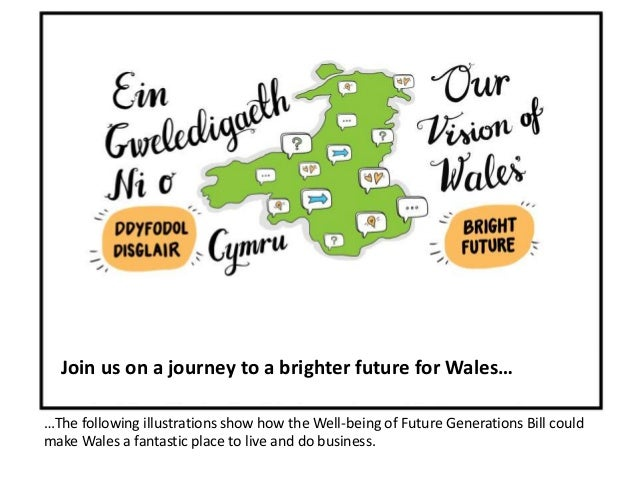 Join us on a journey to a brighter future for Wales…  …The following illustrations show how the Well-being of Future Gener...