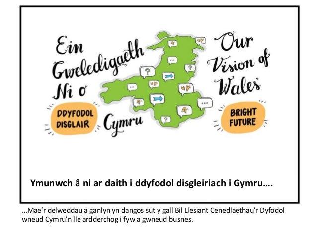 Ymunwch â ni ar daith i ddyfodol disgleiriach i Gymru….  …Mae'r delweddau a ganlyn yn dangos sut y gall Bil Llesiant Cened...