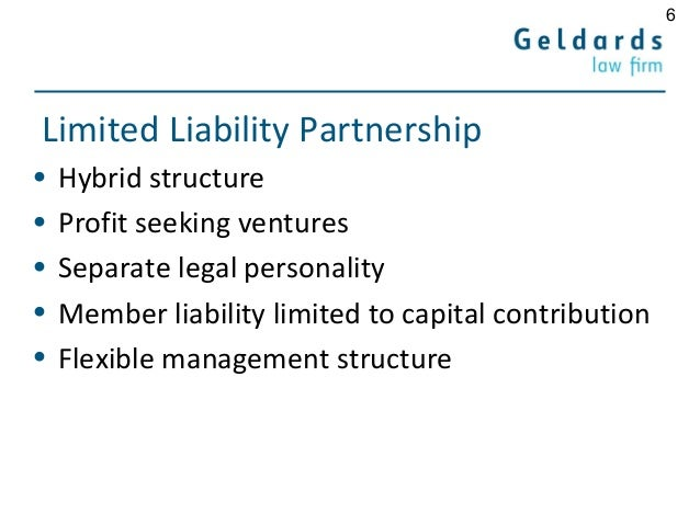 limited liability partnership as a hybrid What is an llp (limited liability partnership) limited liability partnership is a hybrid form of entity and is an ideal choice for medium and large sized business.