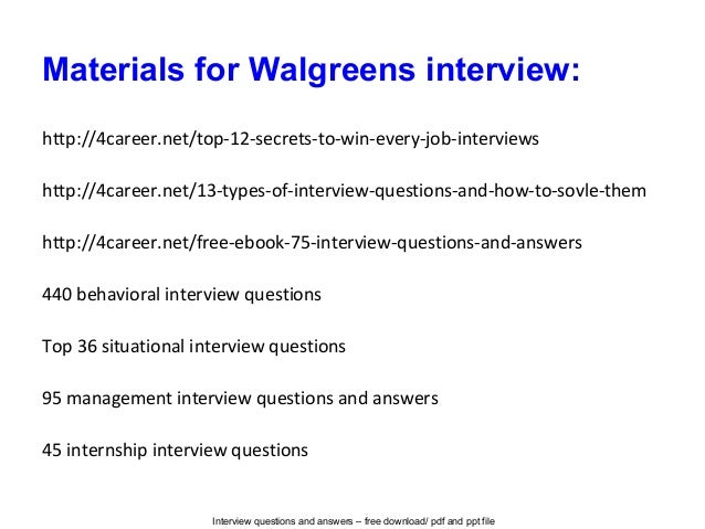 interview questions and answers - Pharmacy Technicianinterview Questions And Answers