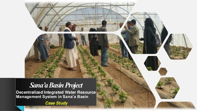 Sana'aBasinProject Decentralized Integrated Water Resource Management System in Sana'a Basin Case Study
