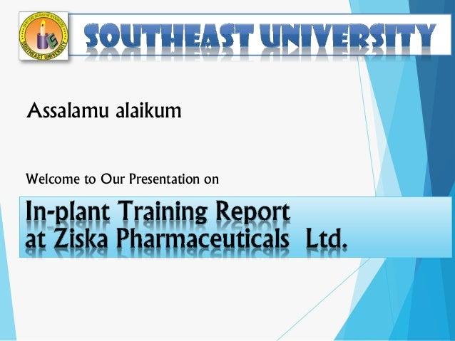 Assalamu alaikum Welcome to Our Presentation on