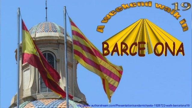 Palau de la Generalitat de Catalunya. Inner Courtyardhttp://www.authorstream.com/Presentation/sandamichaela-1928722-walk-b...
