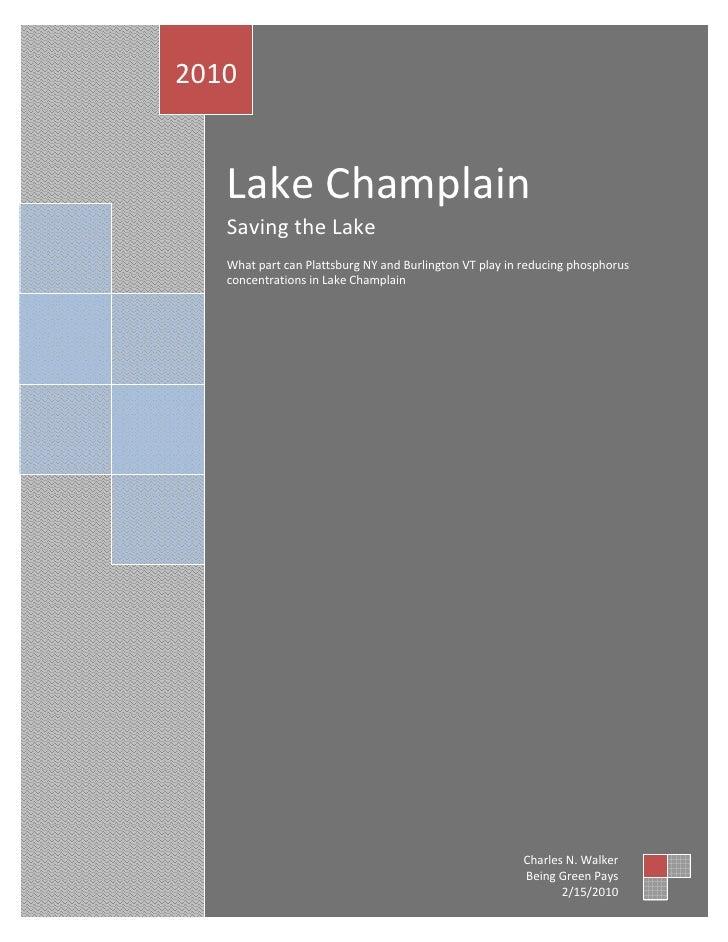 2010                        LakeChamplain        SavingtheLake                WhatpartcanPlattsburgNY...