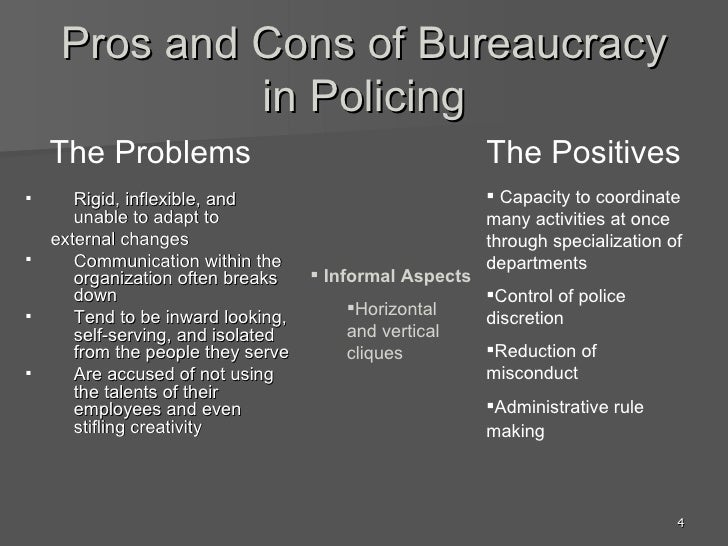 community policing pros and cons