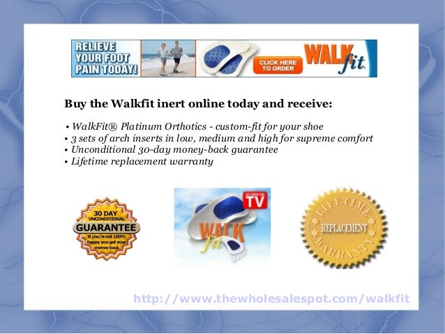 Buy Walkfit And Put An End To Foot Pain While Realigning