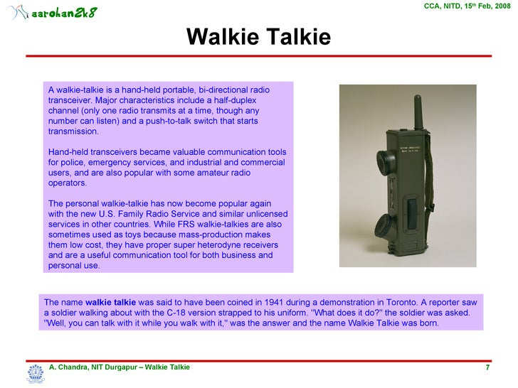 Walkie talkie 7 ccuart Image collections